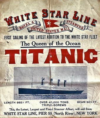 Affiche TITANIC - The Queen of the Ocean