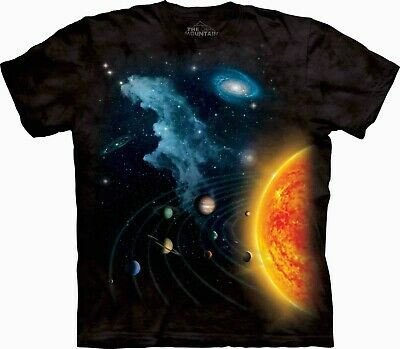 THE MOUNTAIN Solar System Kids/Boys/Child/Girls T-shirt, space/planets/sun/moon