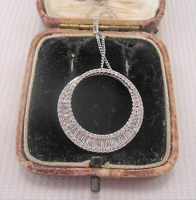 Diamond Pendant set in 9ct White Gold