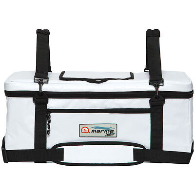 IGLOO Marine Ultra 36 Can Insulated Console Cooler Bag - White