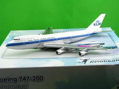 Klm Royal Dutch Airlines 1:300 B747 Mississippi Pilot Collectible Plane Klm_300