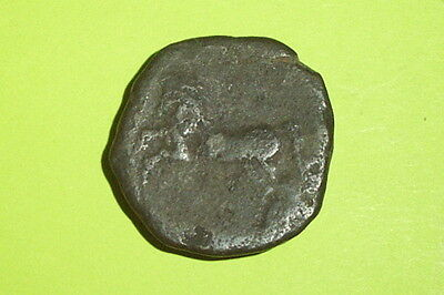HUGE Ancient GREEK COIN of NUMIDIA KING MICIPSA 148 BC - 118 BC goddess Athena