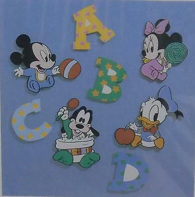 Disney Babies 8 Pce Room Wall Decor Mickey, Minnie Mouse, Donald, Pluto By Dolly