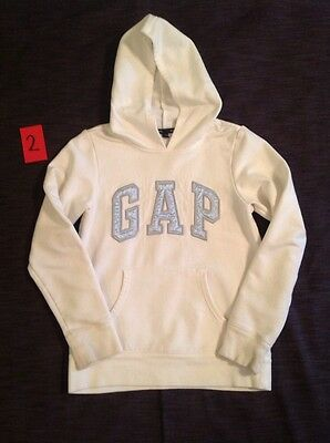 White Blue Gap Sweatshirt Sweater Jacket Outfit 8