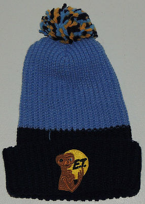 MINT UNUSED 1982 E.T. KNIT BEANIE Stocking Cap Vintage ET Extra Terrestrial