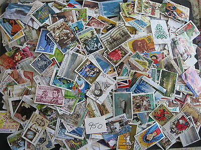 INSTANT COLLECTION of 950 AUSTRALIAN STAMPS. All off paper & DIFFERENT GOOD MIX.