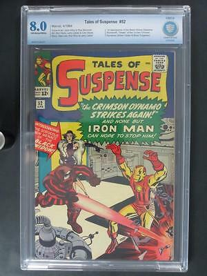 Tales of Suspense #52 - CBCS 8.0 VF - Marvel 1964 - 1st App of The Black Widow!