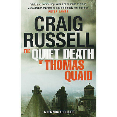 The Quiet Death Of Thomas Quaid by Craig Russell (Paperback), Fiction Books, New