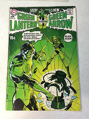 Green Lantern #76 Super Key Issue, Neal Adams, Green Arrow, 1970!!!