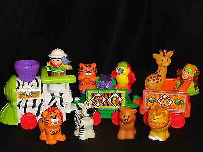 Fisher-Price Little People Safari Train With Extra Animals