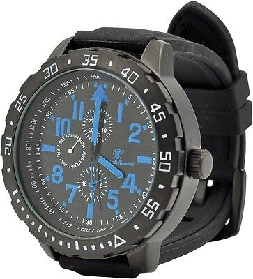 Smith & Wesson SWW-877-BL Cavalry Watch 51 x 15mm Face Blue