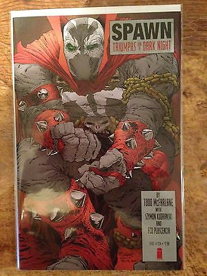 Spawn #224 Dark Knight Returns Cover Homage Nm