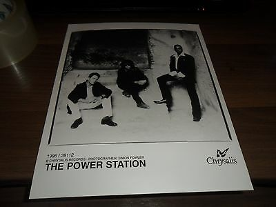 The Power Station Promo Photo 10'' X 8''