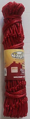 Horse Slow Feed  Equine HAY NET BAG Tough 1 Red 60908