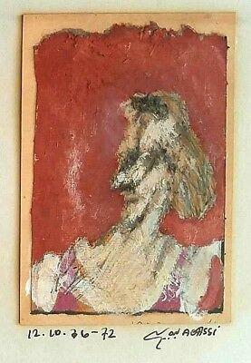 Meir Agassi: Woman Figure 1972 / Israeli Jewish British Modern Contemporary