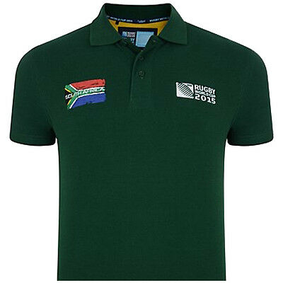 Rugby World Cup 2015 South Africa Polo Shirt - SMALL