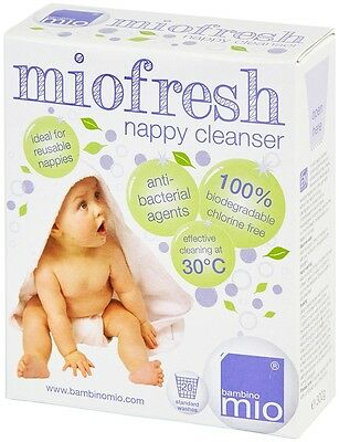 Bambino Mio MIOFRESH (NAPPY/LAUNDY CLEANSER, 300G) For Sensitive Skin Baby BN