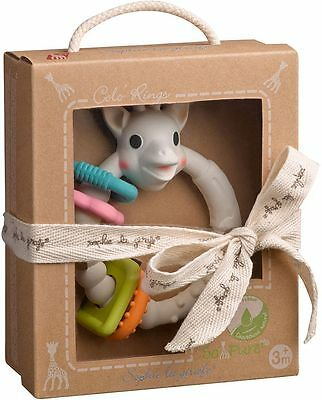 So Pure Sophie the Giraffe MULTI TEXTURED TEETHER 100% Natural Rubber Baby BN