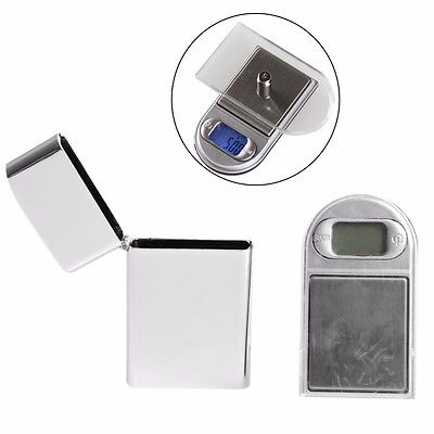 Lighter Style LCD Digital Jewelry Gram Balance Weight Pocket Scale 200g x 0.01g