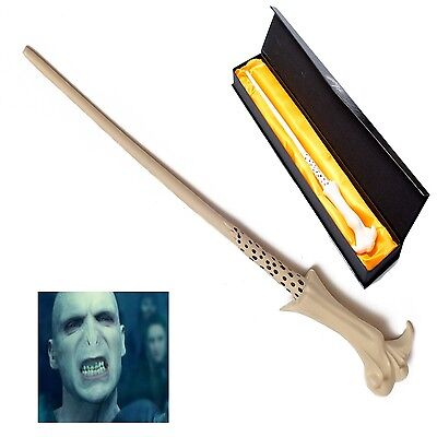 Neu  Lord Voldemort Magical Wand Zauberstab in Box COS Elderstab DE