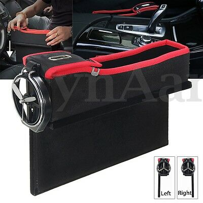 PU Car Storage Organiser Seat Tidy Bag Travel Pocket Boot Back Holder Coin Pouch