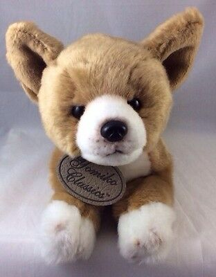 Russ Chihuahua Puppy Dog Tan Brown White Plush Pet Yomiko Classics Berrie 11""