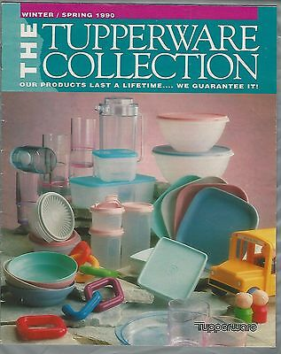 1990 TUPPERWARE catalog, great old prices, 32 pages