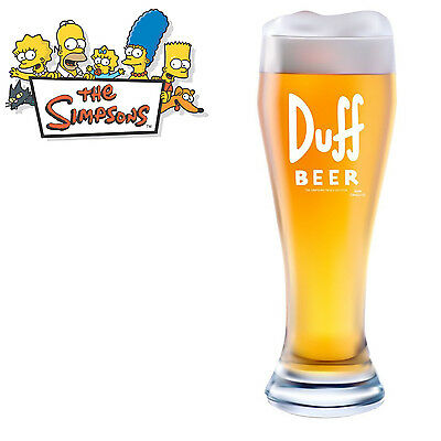 The Simpsons XXL Bierglas Duff Beer 2,5 Liter