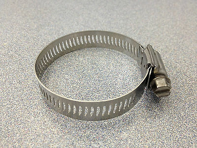 Breeze #28 All Stainless Steel Hose Clamp 10 Pcs 63028