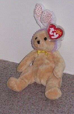 SPRINGSTON RABBIT BUNNY Ty Beanie Baby MINT WITH MINT TAGS
