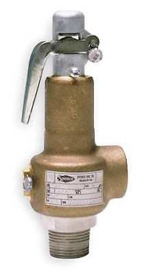 SPENCE 0031DCA-025 Safety Relief Valve,1/2 x 3/4 In,25 psi