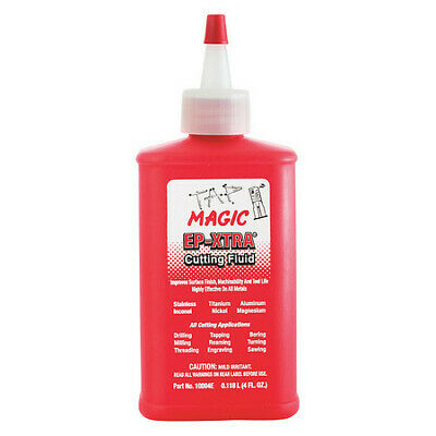 TAP MAGIC 10004E, 4 oz. Spout Top Can, Cutting Fluid