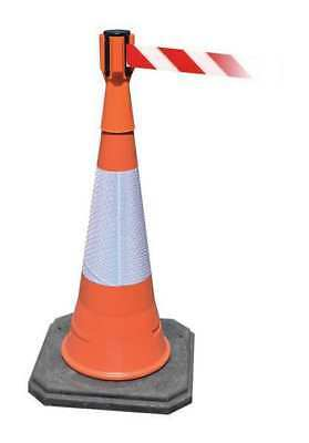 Tensacone Topper(R),Height 9 In, Orange TENSABARRIER TC114-30-MAX-NO-D3X-C