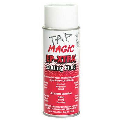 TAP MAGIC 10012EL, 12 oz. Aerosol Can, Cutting Fluid