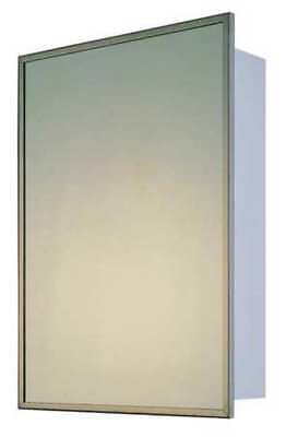 "Recessed Medicine Cabinet, Stainless Steel Frame, 36""H x 18""W KETCHAM 178"