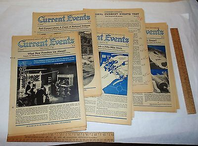 22 issues - 1940 - CURRENT EVENTS - The National School Newspaper
