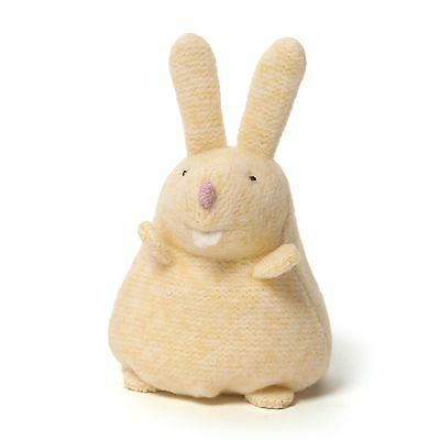 "GUND YELLOW MISTY BEANBAG Plush BUNNY 4"" NEW with Tag  Age 1+"