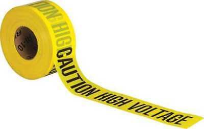 BRADY 91458 Barricade Tape,Polyethylene,1000 ft. L G9404771