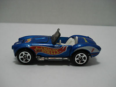Hot Wheels Shelby Cobra Convertible Ford # 1 Car Scale: 1:64 Mattel 1982