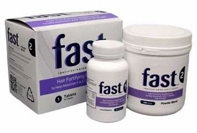Nisim FAST Hair Fortifying Food Supplements 30 Tablets & 300g Powder