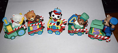 Estate  Christmas Holiday Birthday Train Age l to 5 Peppermint Express LOOK