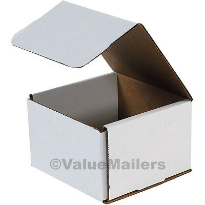 100-14x3x3 White Corrugated Shipping Packing Box Boxes Mailers
