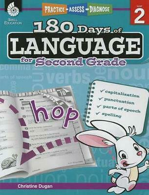 180 Days of Language for Second Grade (Level 2): Practice, Assess, Diagnose by C