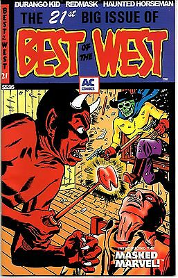 Best of the West No. 21 2001 8.0 VF AC Comics  Masked Marvel