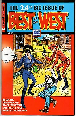 Best of the West No. 24 2001 8.0 VF AC Comics  Redmask