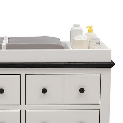 New Delta Children Providence Changing Table Topper - White Model:24607666