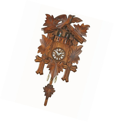 Kuckulino Black Forest Clock with quartz movement and cuckoo chime