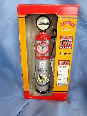 Snap On Diecast Limited Edition Gas Pump Bank Globe 1:12 1930 Globe Lights