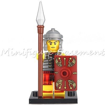 Custom Roman Soldier Series Minifigure fits with Lego UK Seller
