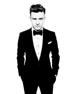 Justin Timberlake unsigned 8x10 music photo 3